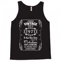 Premium Vintage Made In 1971 Tank Top | Artistshot