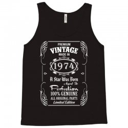 Premium Vintage Made In 1974 Tank Top   Artistshot