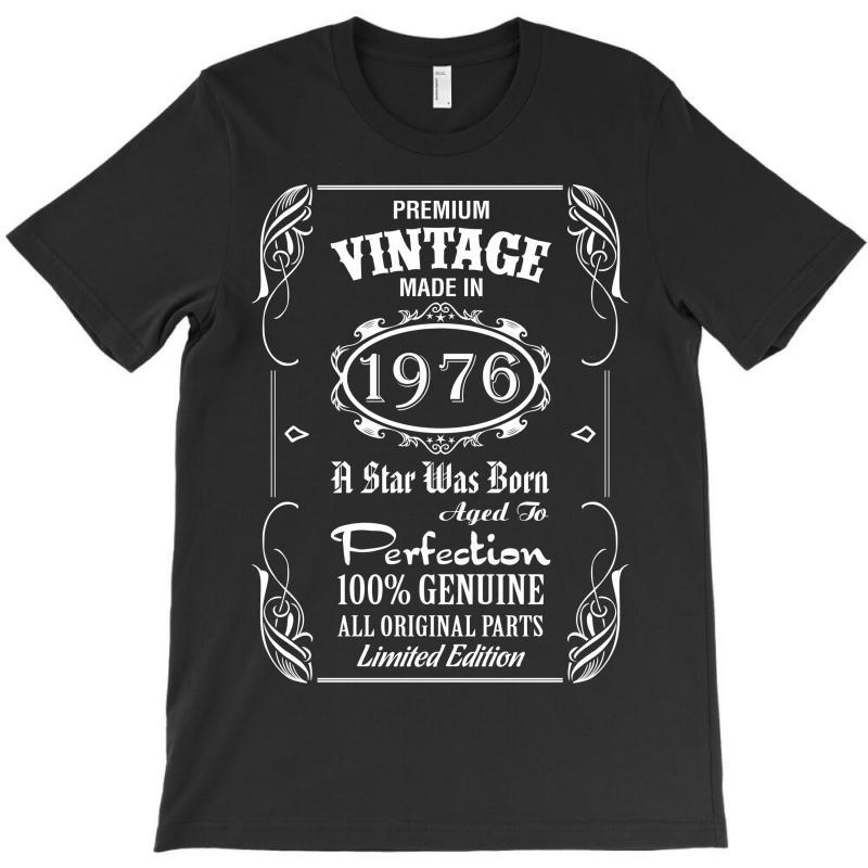Premium Vintage Made In 1976 T-shirt | Artistshot