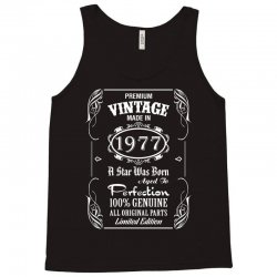 Premium Vintage Made In 1977 Tank Top | Artistshot