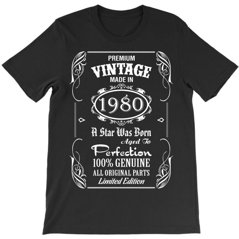 Premium Vintage Made In 1980 T-shirt | Artistshot