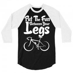 Put The Fun Between Your Legs 3/4 Sleeve Shirt | Artistshot