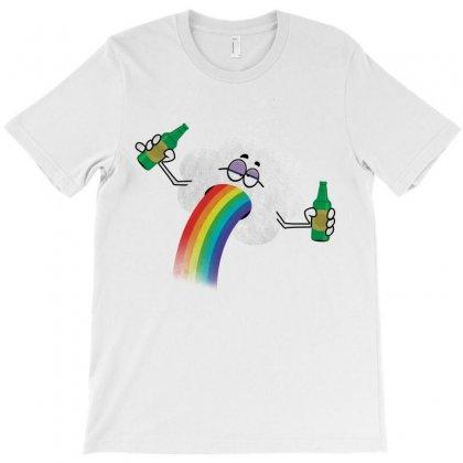 Rainbow Puke T-shirt Designed By Tshiart