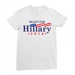 Ready For Hillary 2016 Ladies Fitted T-Shirt | Artistshot