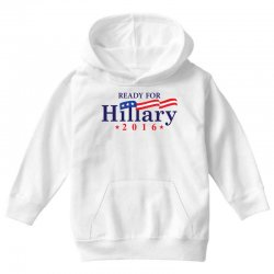 Ready For Hillary 2016 Youth Hoodie | Artistshot