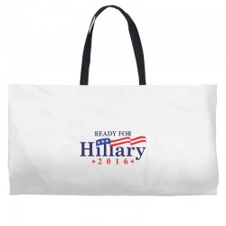 Ready For Hillary 2016 Weekender Totes | Artistshot