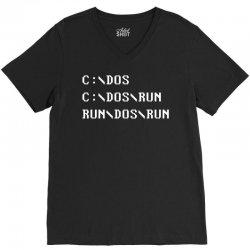 Run, Dos, Run! V-Neck Tee   Artistshot
