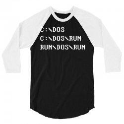 Run, Dos, Run! 3/4 Sleeve Shirt   Artistshot
