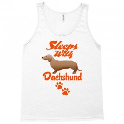 Sleeps With Dachshund Tank Top | Artistshot