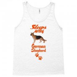 Sleeps With German Shepherd Tank Top | Artistshot