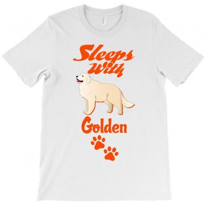 Sleeps With Golden T-shirt Designed By Tshiart