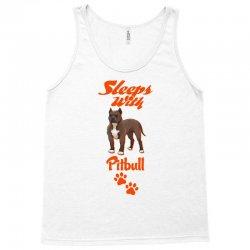 Sleeps With Pitbull Tank Top | Artistshot