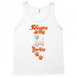 Sleeps With Yorkie Tank Top | Artistshot