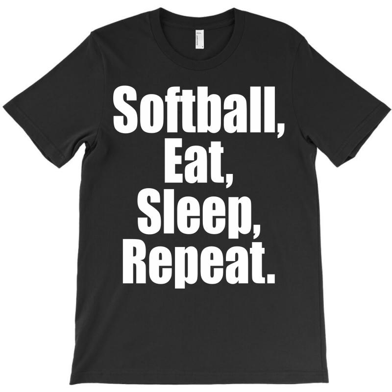 Softball Life T-shirt | Artistshot