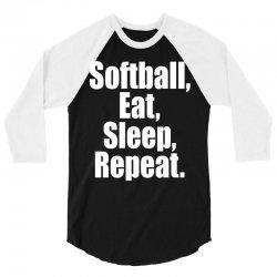 Softball Life 3/4 Sleeve Shirt | Artistshot