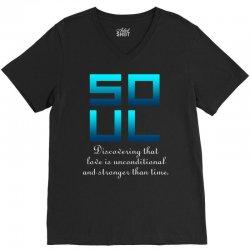 Soul (Soul + Mate Couples Design) V-Neck Tee | Artistshot