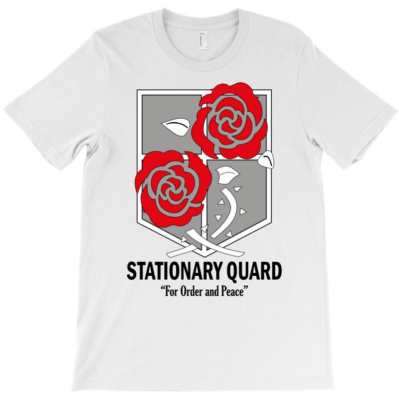 Stationary Quard- Attack On Titan T-shirt   Artistshot