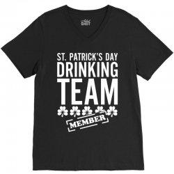 St. Patricks Day Drinking Team V-Neck Tee | Artistshot