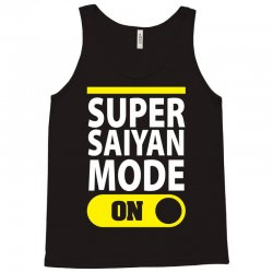 Super Saiyan Mode ON Tank Top | Artistshot