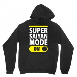 Super Saiyan Mode ON Unisex Hoodie | Artistshot