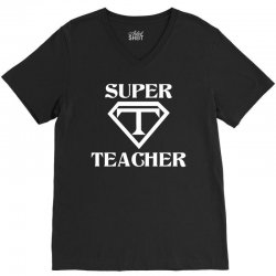 Super Teacher V-Neck Tee | Artistshot