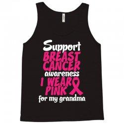 I Wear Pink For My Grandma Tank Top   Artistshot