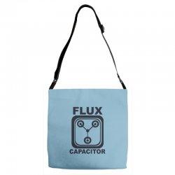 flux capacitor Adjustable Strap Totes | Artistshot