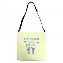 best mother day gift ever Adjustable Strap Totes   Artistshot
