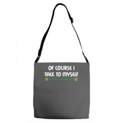 geek expert advice   science   physics   nerd t shirt Adjustable Strap Totes | Artistshot