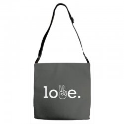 Love Adjustable Strap Totes | Artistshot