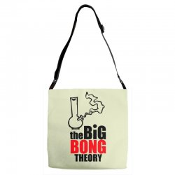 Big Bong Theory Adjustable Strap Totes | Artistshot