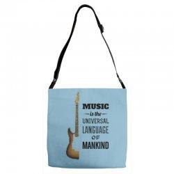 music quotes Adjustable Strap Totes | Artistshot