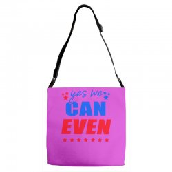 Yes We Can Even Adjustable Strap Totes | Artistshot