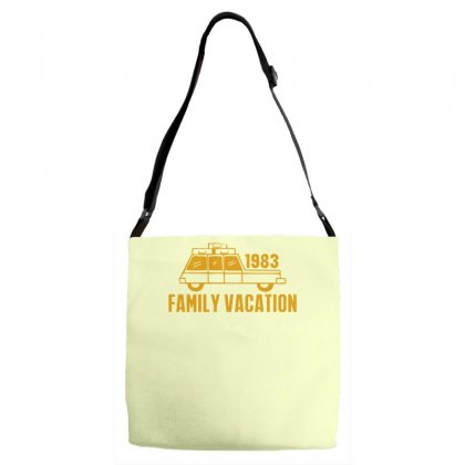 Family Vacation Adjustable Strap Totes Designed By Ditreamx