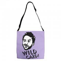 wild card Adjustable Strap Totes   Artistshot