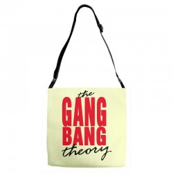 the gang bang theory Adjustable Strap Totes | Artistshot