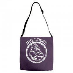 Bulldog Sports Team Adjustable Strap Totes | Artistshot