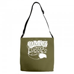 Omg Fucking Furries Adjustable Strap Totes | Artistshot