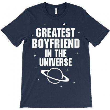Greatest Boyfriend In The Universe T-shirt Designed By Tshiart
