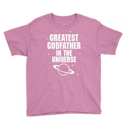 Greatest Godfather In The Universe Youth Tee Designed By Tshiart