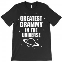 Greatest Grammy In The Universe T-Shirt | Artistshot
