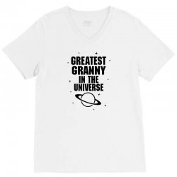 Greatest Granny In The Universe V-Neck Tee | Artistshot