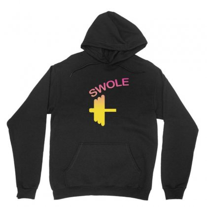 Swole Mates Couple Design Unisex Hoodie