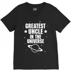 Greatest Uncle  In The Universe V-Neck Tee | Artistshot