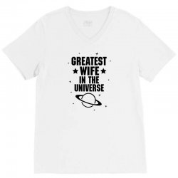 Greatest Wife In The Universe V-Neck Tee | Artistshot