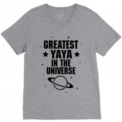 Greatest Yaya In The Universe V-Neck Tee | Artistshot