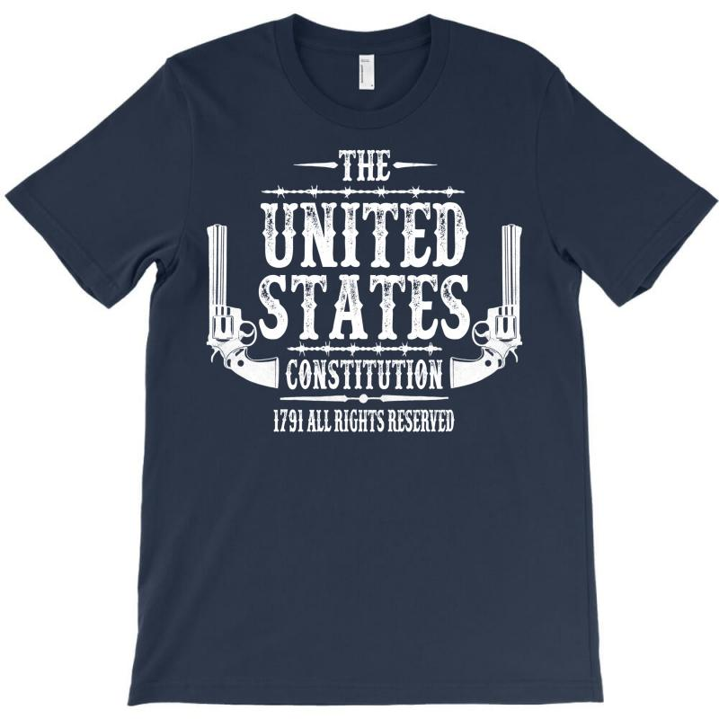 The United States Constitution T-shirt   Artistshot