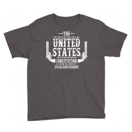 The United States Constitution Youth Tee Designed By Tshiart