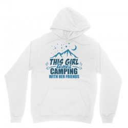 This Girl Loves Camping With Her Friends Unisex Hoodie | Artistshot