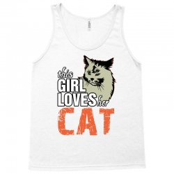 This Girl Loves Her Cat Tank Top | Artistshot